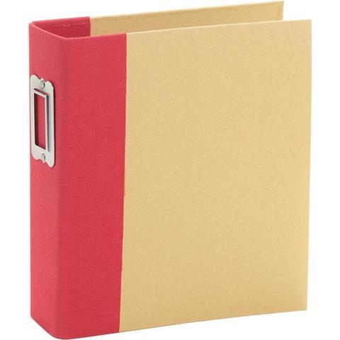 Альбом на кольцах 6х8in SN@P! (15х20см)- Red