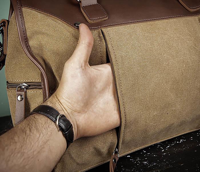 BAG501-2 Мужская сумка из ткани для ручной клади фото 06