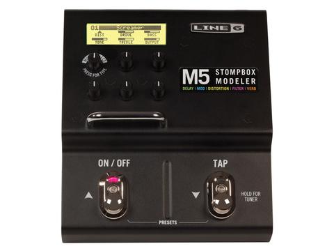 LINE 6 M5 Stompbox Напольная педаль мультиэффектов