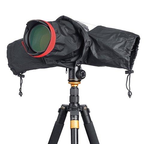 Профессиональный водонепроницаемый чехол дождевик WAKA Camera Rain Cover для камеры DSLR