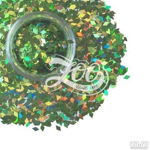 1152 Ромбики для дизайна Zoo (светло-зеленые)