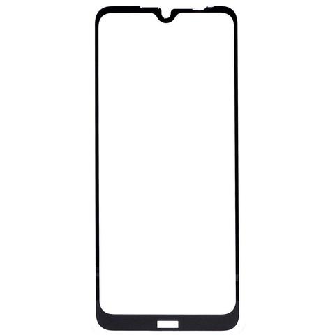 Защитное стекло для Xiaomi Redmi Note 8T с черной рамкой 2,5D Full Glue