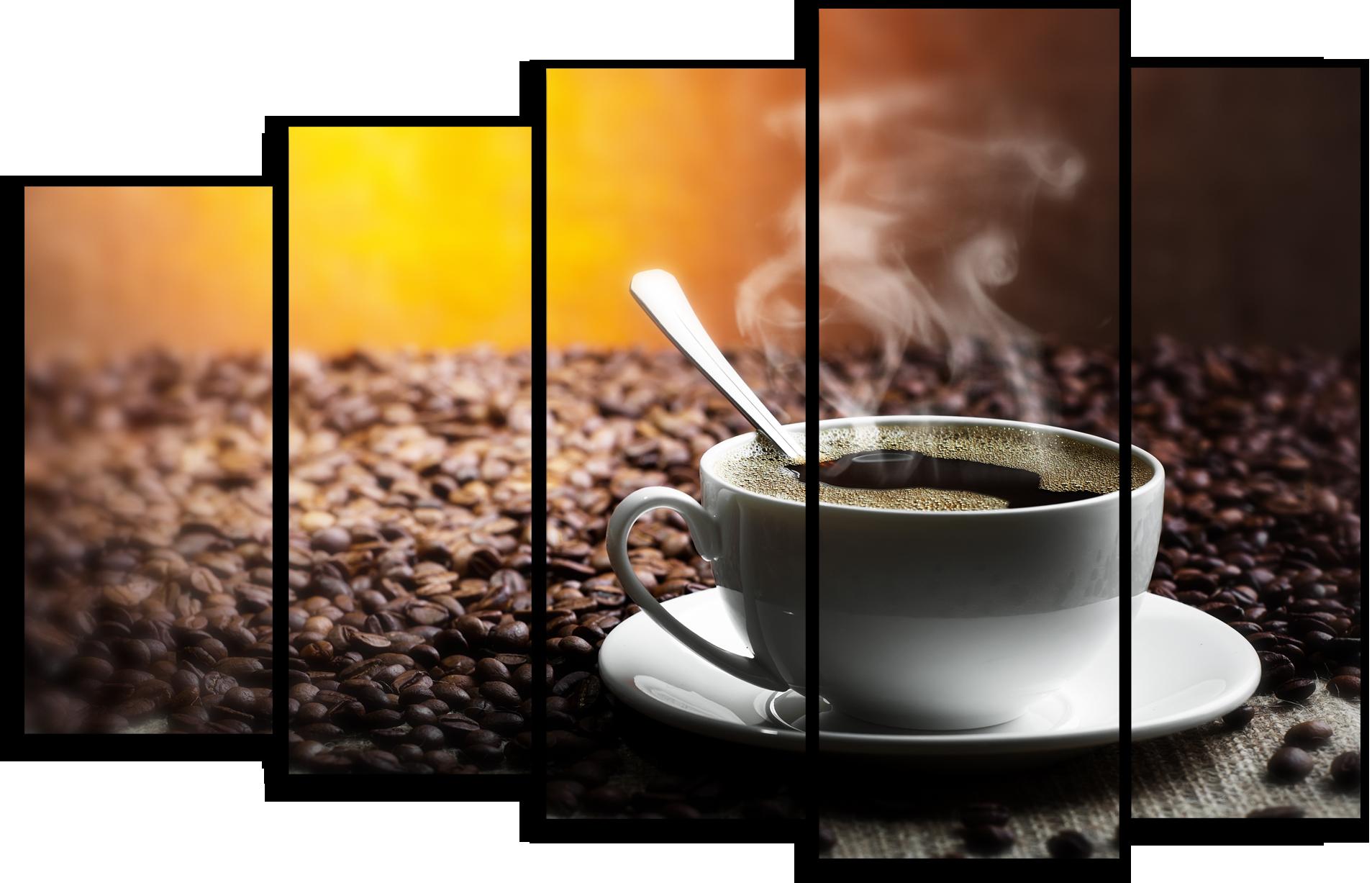 """Еда Модульная картина """"Аромат кофе"""" М393.png"""