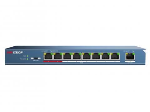 Неуправляемый PoE-коммутатор Hikvision DS-3E0109P-E/М (B)