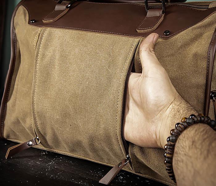 BAG501-2 Мужская сумка из ткани для ручной клади фото 07