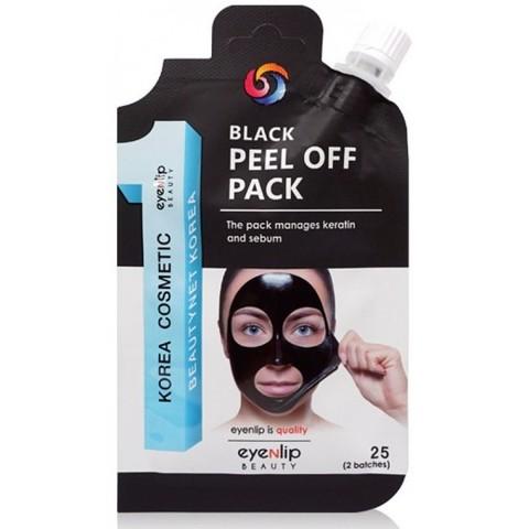 ENL POCKET Маска-пленка очищающая BLACK PEEL OFF PACK 25гр