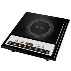 Плита индукционная 2000 Вт одноконфорочная с электронной панелью управления D-791N