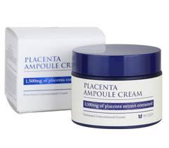 Антивозрастной плацентарный крем для лица MIZON Placenta Ampoule Cream