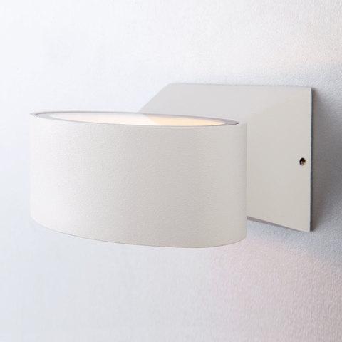 Blinc белый уличный настенный светодиодный светильник 1549 TECHNO LED