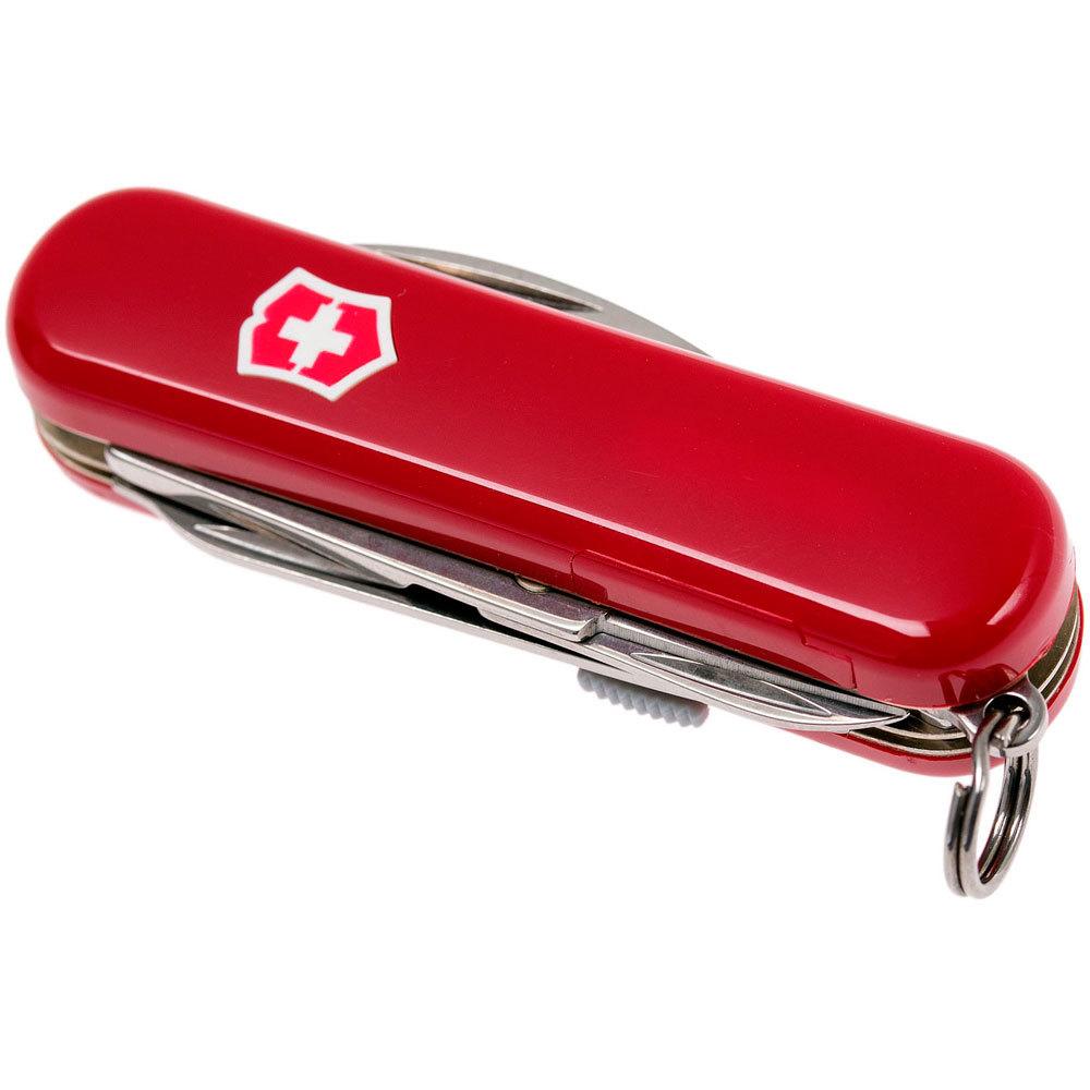 Нож-брелок Victorinox Midnite Manager (0.6366) с шариковой ручкой и фонариком, 10 функций, 58 мм. в сложенном виде | Wenger-Victorinox.Ru