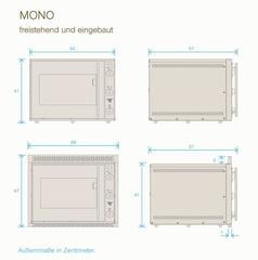 Электрическая каменная печь Mono Hussler