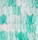 Пряжа Alize Puffy Color лазурный принт 5920