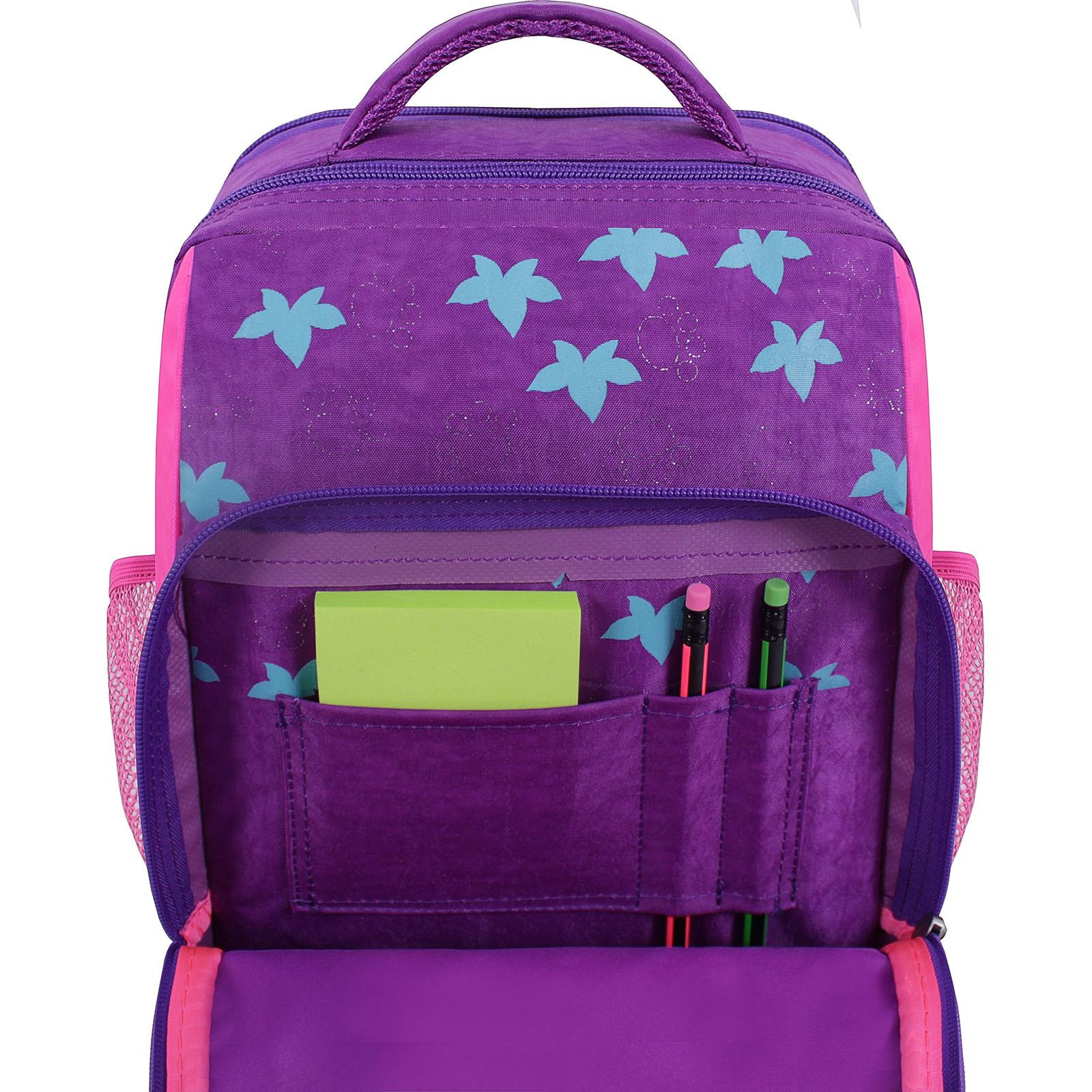 Рюкзак школьный Bagland Школьник 8 л. фиолетовый 502 (0012870) фото 4