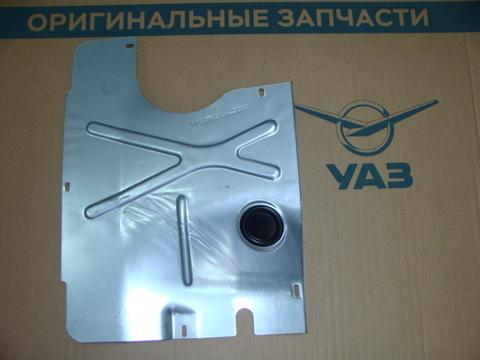 Брызговик двиг. перед. УАЗ 3163 с 2007, Хантер дв.ЗМЗ-409,514)