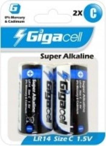 Батарейка Gigacell LR14-2 (2шт)