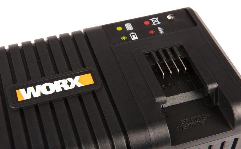 Зарядное устройство WORX WA3867 20В, 6A