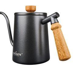 Деревянная не обжигающая ручка чайника Yami Drip Kettle   Easy-cup.ru