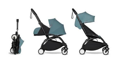 Прогулочная коляска Babyzen  Yoyo 2 Black frame Aqua