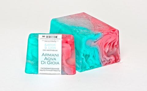 Мыло ручной работы по мотивам Armani aqva 100 гр ТМ SAVON D LION