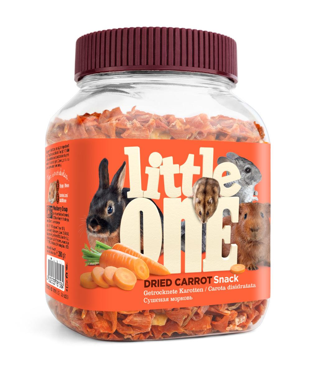 """Лакомства Лакомство Little One для всех видов грызунов, """"Сушеная морковь"""" 32050.jpg"""