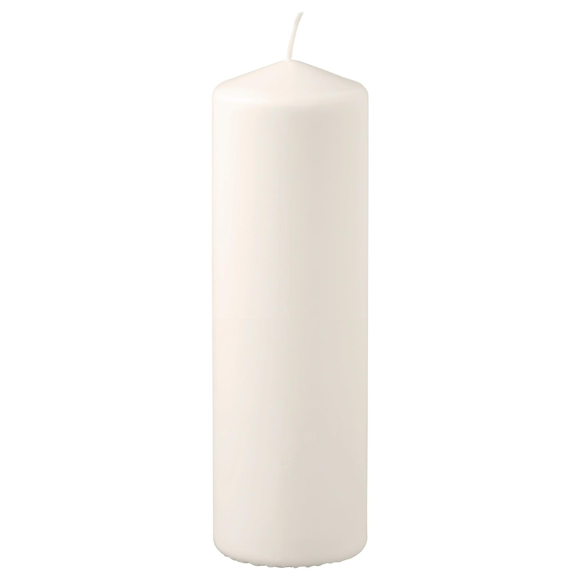 ФЕНОМЕН Неароматич свеча формовая естественный