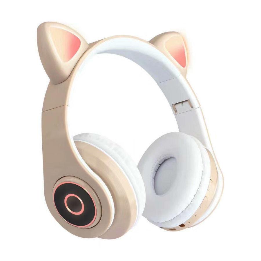 Гаджеты и hi-tech аксессуары Беспроводные наушники со светящимися ушками кошки Cat Ear HL89 besprovodnye-naushniki-so-svetyaschimisya-ushkami-koshki.jpg