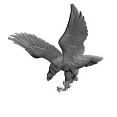 Силиконовый молд № 0309-Орел  левый