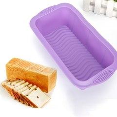 Силиконовая форма для хлеба рифленая, 21*9*7 см