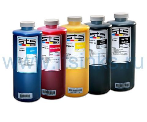 Комплект пигментных чернил STS для Epson XD 5x1000 мл