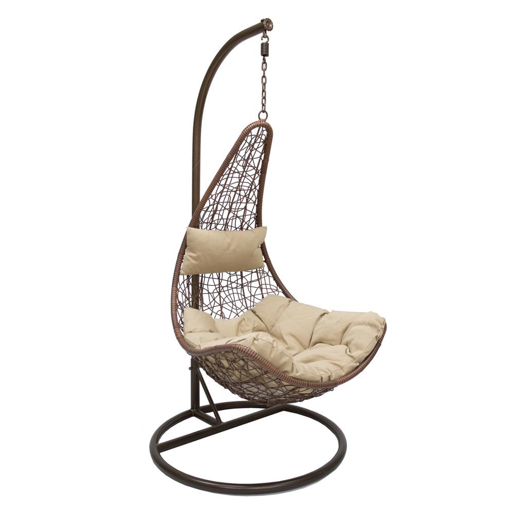 Подвесные кресла Подвесное кресло Leset Stern Leset_Stern_brown.jpg