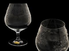 Набор бокалов для коньяка и бренди «Европейский декор», фото 1