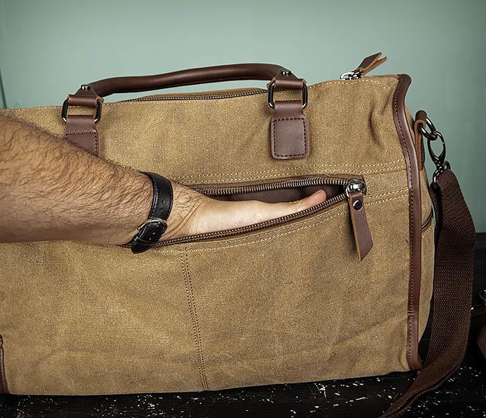 BAG501-2 Мужская сумка из ткани для ручной клади фото 10