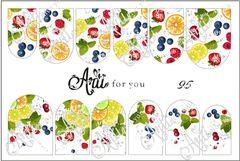 Слайдер наклейки Arti for you 95