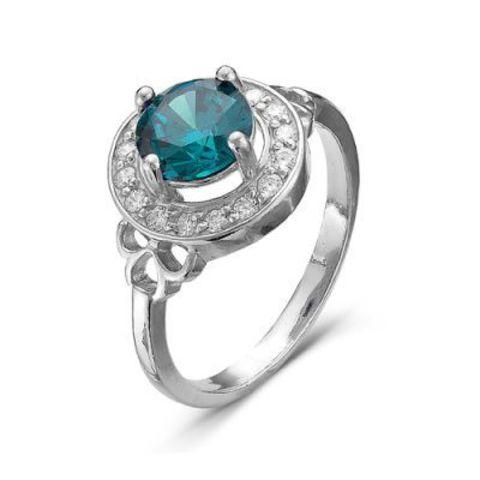 Серебряное кольцо с шпинелью