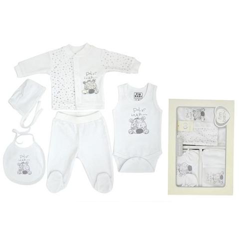 Набор одежды FIMBABY 100864 для детей от 0 до 6 мес. 6 предметов (р.68 белый цвет)