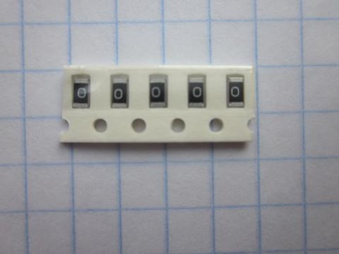 резистор ЧИП 0 Ом 1206
