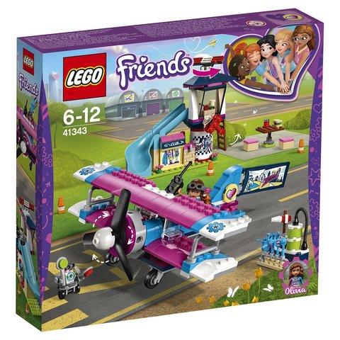 LEGO Friends: Экскурсия по Хартлейк-Сити на самолёте 41343 — Heartlake City Airplane Tour — Лего Френдз Друзья Подружки