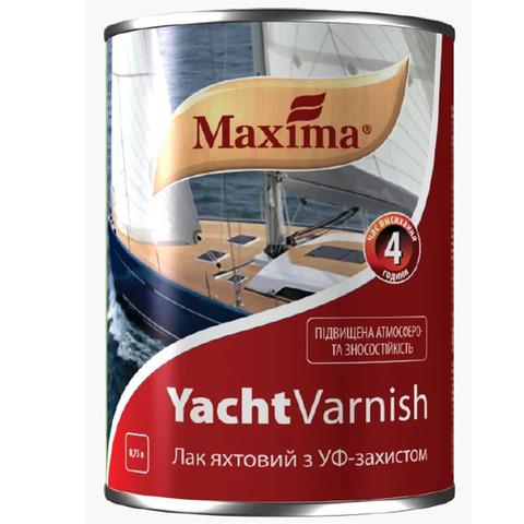 Яхтный лак алкидно-уретановый глянецевый Maxima - 0.75 л