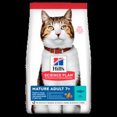 Корм для кошек от 7 лет Hill`s Science Plan Feline Mature Adult 7+ Active Longevity, с тунцом