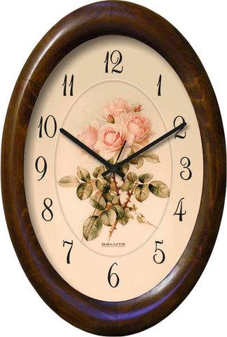 Настенные часы Салют ДС - ОБ23 - 471 Розы