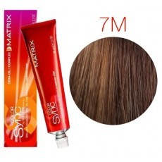 Matrix Color Sync: Mocha 7M блондин мокка, крем-краска без аммиака, 90мл