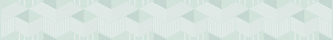 Бордюр AZORI Lounge mint geometria 505x62