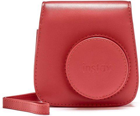 Fotoaparat İnstax Mini 8, Mini 9 modelləri üçün qoruyucu üzlük - qırmızı