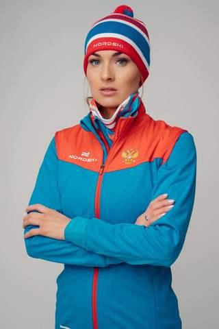 Разминочная куртка Nordski Pro rus W женская