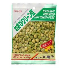 Хрустящий зеленый горошек Kasugai с васаби 74 гр