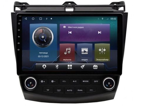 Магнитола для Honda Accord (2003-2007) Android 10 4/64GB IPS DSP 4G модель CB 2180TS10