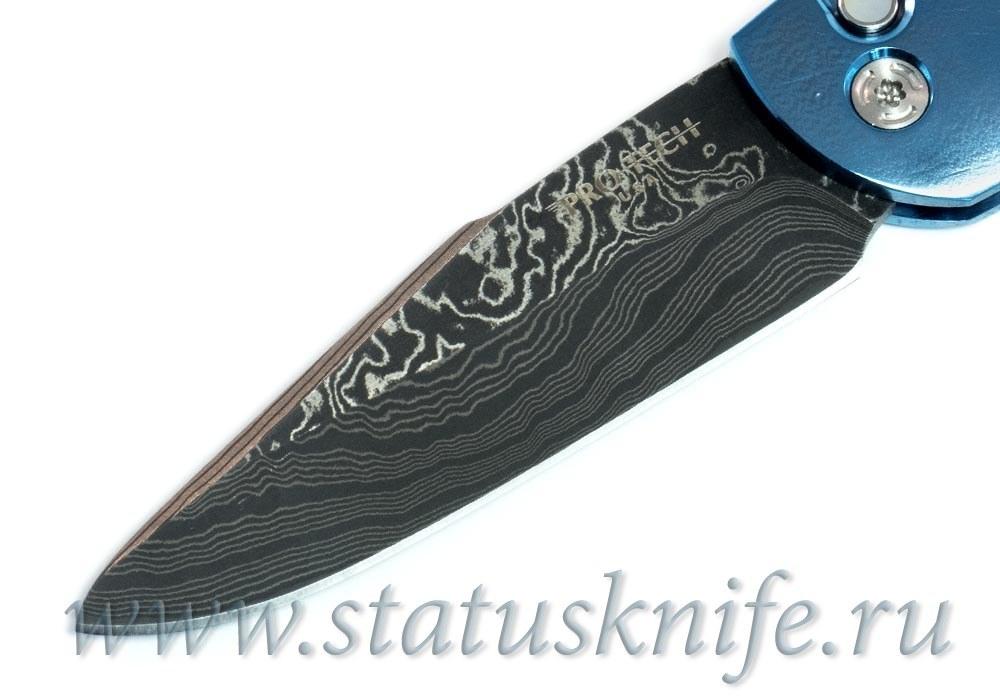 Нож Pro-Tech Custom Doru Damascus Automatic - фотография