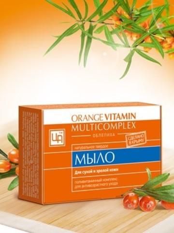 """Мыло для сухой и зрелой кожи """"Orange Vitamin Multicomplex"""""""