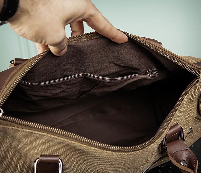 BAG501-2 Мужская сумка из ткани для ручной клади фото 11