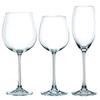VIVENDI - Набор фужеров 18 шт.: 6 бокалов для красного вина 727 мл. + 6 бокалов для шампанского 272 мл. + 6 бокалов для белого вина 387 мл.